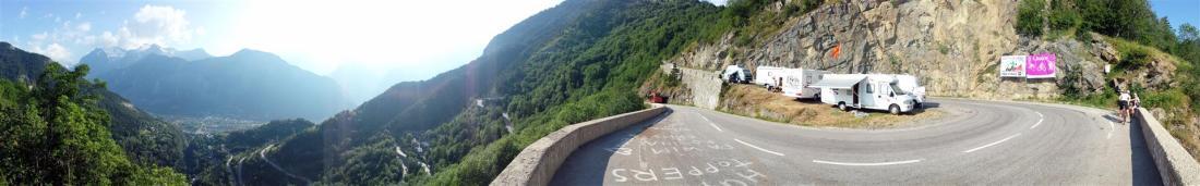 Climbing Alpe d'Huez
