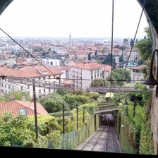 Via from the funicular
